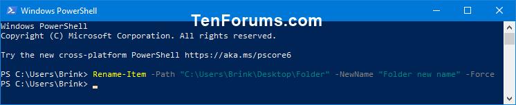 Name:  rename_folder_PowerShell.png Views: 68 Size:  5.9 KB