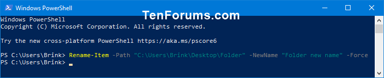 Name:  rename_folder_PowerShell.png Views: 81 Size:  5.9 KB