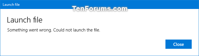 Enable or Disable Microsoft Store Apps Open Files in Desktop App