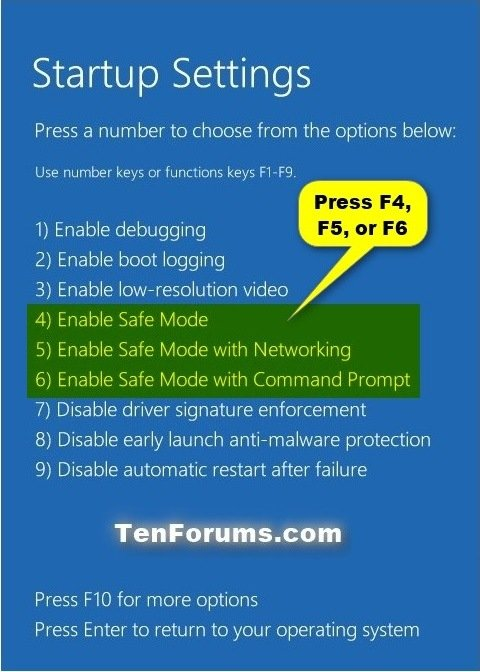 Boot into Safe Mode on Windows 10 | Tutorials