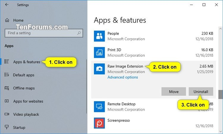 Add Native RAW Image Format Support to Windows 10-uninstall_raw_image_extension_app.jpg