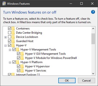 Hyper-V virtualization - Setup and Use in Windows 10-hyper-v-1.png