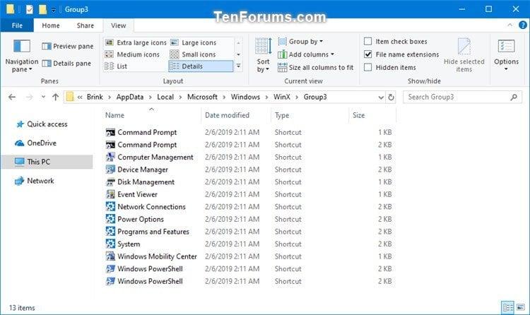 Add Custom Shortcuts to Win+X Quick Link Menu in Windows 10-win-x_quick_links_menu-4.jpg