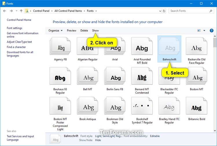 Hide or Show Fonts in Windows-show_font_family.jpg
