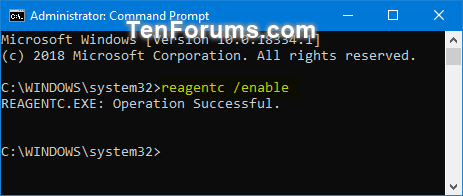 Enable or Disable Windows Recovery Environment in Windows 10-enable_windows_re.png