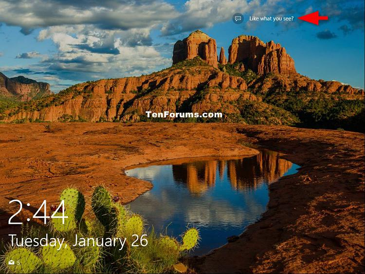 Find And Save Windows Spotlight Background Images In Windows 10 Tutorials