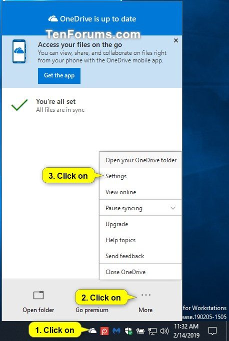 Enable or Disable OneDrive Notifications when Files Deleted in Cloud-onedrive_settings-1.jpg