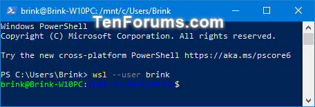 Name:  Run_default_WSL_distro_as_specific_user_PowerShell.png