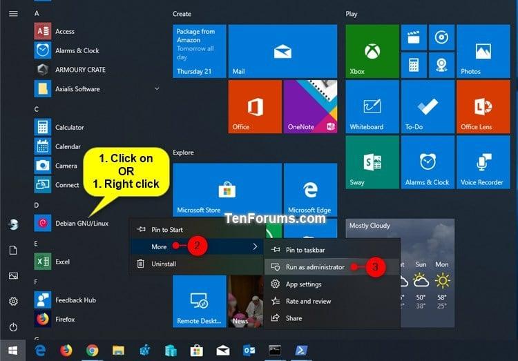 Run docker in linux subsystem for windows 10
