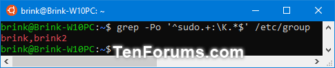 Add, Remove, and List Sudo Users in a WSL Linux Distro in Windows 10-list_sudo_users_in_wsl_distro-3.png