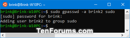 Add, Remove, and List Sudo Users in a WSL Linux Distro in Windows 10-sudo_add_sudo_user_in_wsl_distro.png