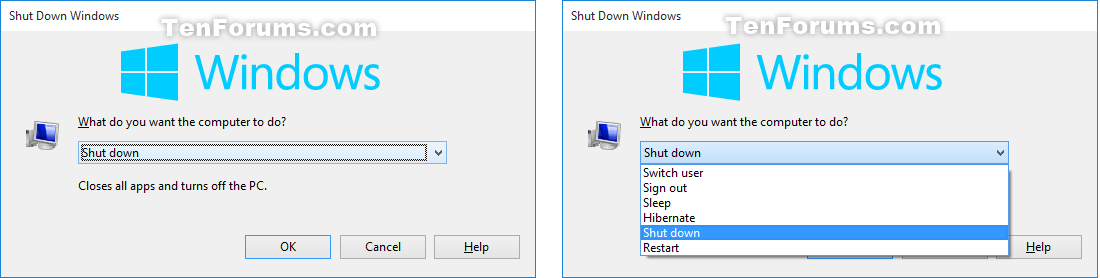 Hibernate computer in windows 10 windows 10 tutorials click image for larger version name altf4g views 696 hibernate computer in windows 10 ccuart Gallery