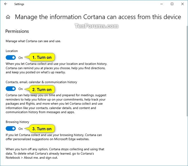 Turn On or Off Cortana Pick up where I left off in Windows 10-manage_the_information_cortana_can_access_from_this_device-2.jpg