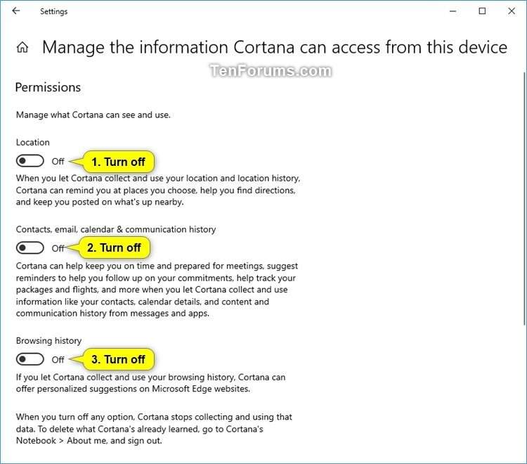 Turn On or Off Cortana Pick up where I left off in Windows 10-manage_the_information_cortana_can_access_from_this_device-4.jpg
