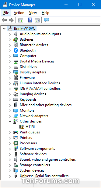 Open Device Manager in Windows 10 | Tutorials