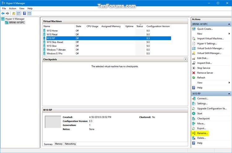 Name:  Rename_virtual_machine_in_Hyper-V_Manager-1.jpg Views: 70 Size:  39.7 KB