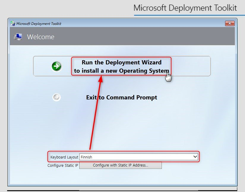 Microsoft Deployment Toolkit - Easy and Fast Windows