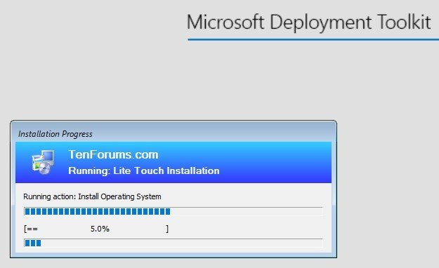 Microsoft Deployment Toolkit - Easy and Fast Windows Deployment-deployment-begins-tf.jpg