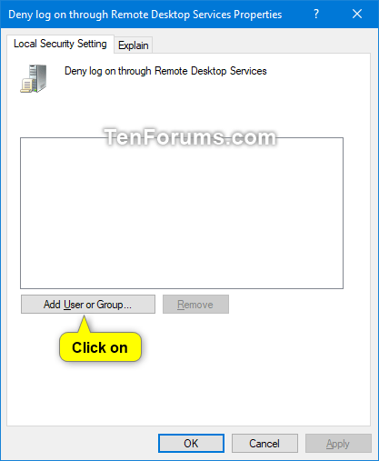 Deny Users and Groups to Log on with Remote Desktop in Windows 10-deny_remote_desktop_services_user_rights_assignment-2.png