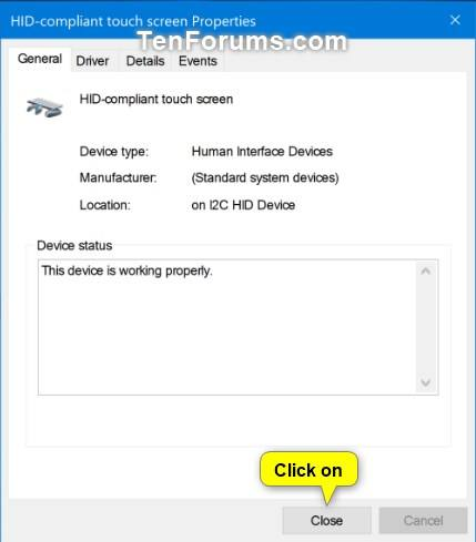 Enable or Disable Touch Screen in Windows 10 | Tutorials