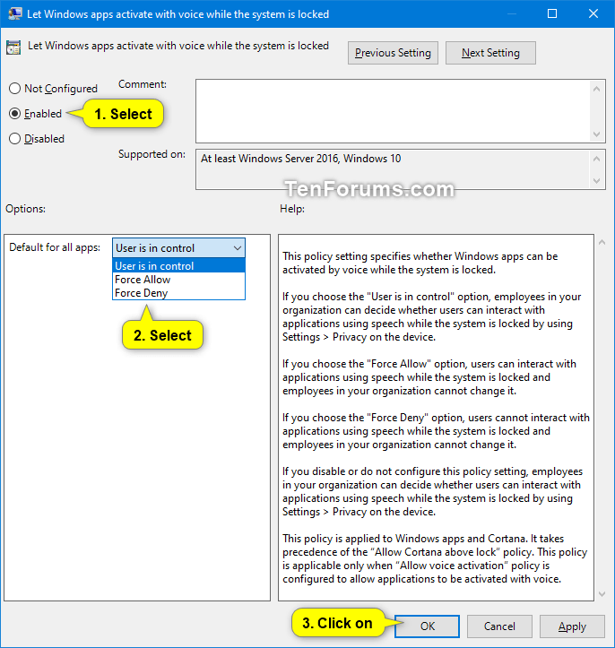 Allow or Deny Apps Access to Use Voice Activation in Windows 10-voice_activation_while_locked_gpedit-2.png