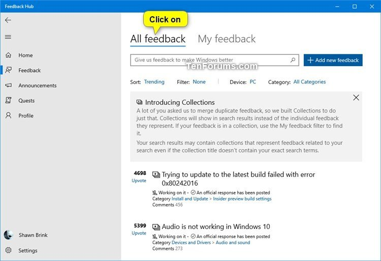Share Feedback from Feedback Hub in Windows 10-share_feedback_in_feedback_hub-3.jpg