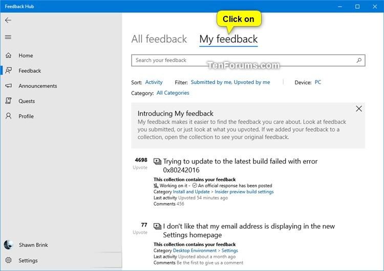 Share Feedback from Feedback Hub in Windows 10-share_feedback_in_feedback_hub-4.jpg