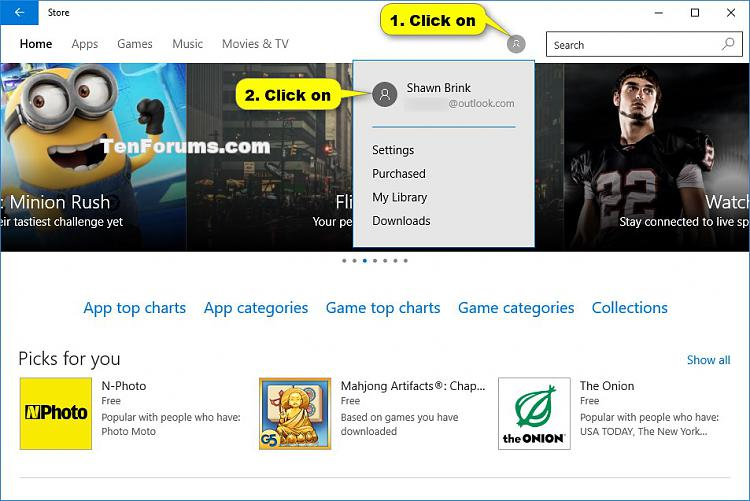 Sign in Store with Different Account in Windows 10-store_sign_out-1.jpg