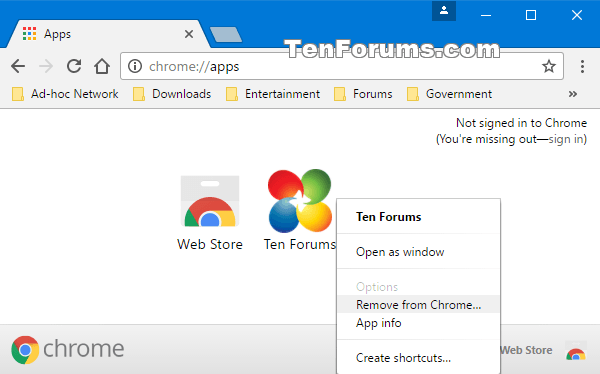 Create Desktop Shortcut of Website in Google Chrome | Tutorials