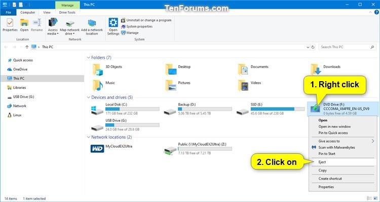 Create Bootable USB Flash Drive to Install Windows 10-unmount_iso.jpg