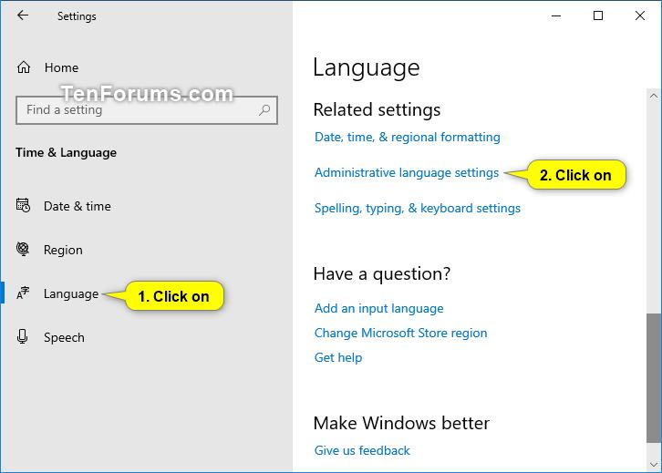 windows locale