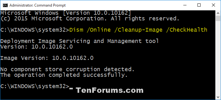 Name:  DISM_CheckHealth.png Views: 240064 Size:  19.0 KB