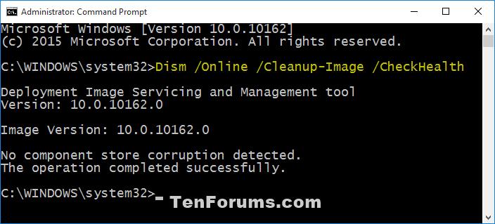 Name:  DISM_CheckHealth.png Views: 180609 Size:  19.0 KB