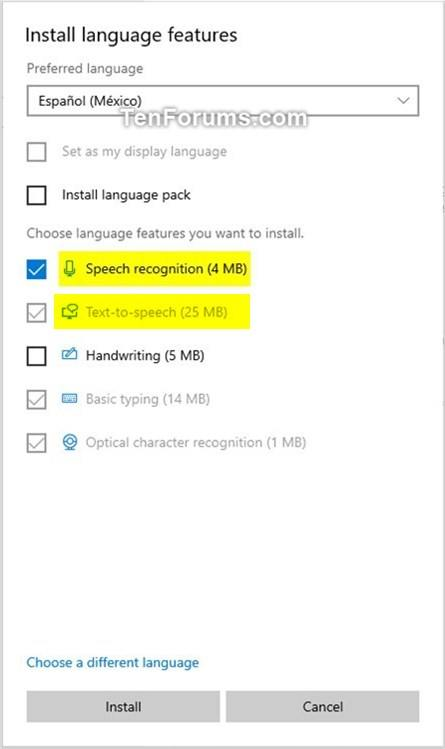 Add and Remove Speech Voices in Windows 10 | Tutorials