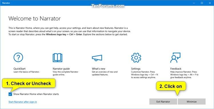 Name:  Narrator_Home_check_box.jpg Views: 67 Size:  39.3 KB