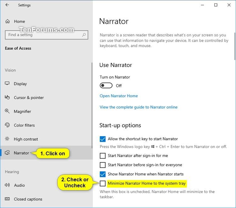 Change Minimize Narrator Home to Taskbar or System Tray in Windows 10-minimize_narrator_home_settings.jpg