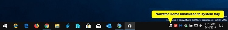 Change Minimize Narrator Home to Taskbar or System Tray in Windows 10-narrator_home_system_tray.jpg