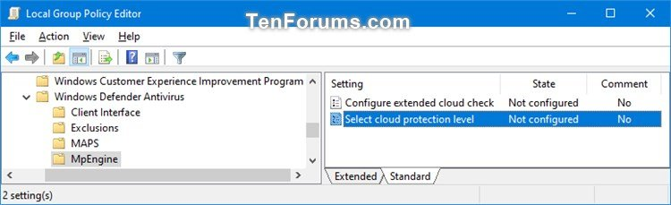 Enable Windows Defender Block at First Sight in Windows 10-select_cloud_protection_level-1.jpg