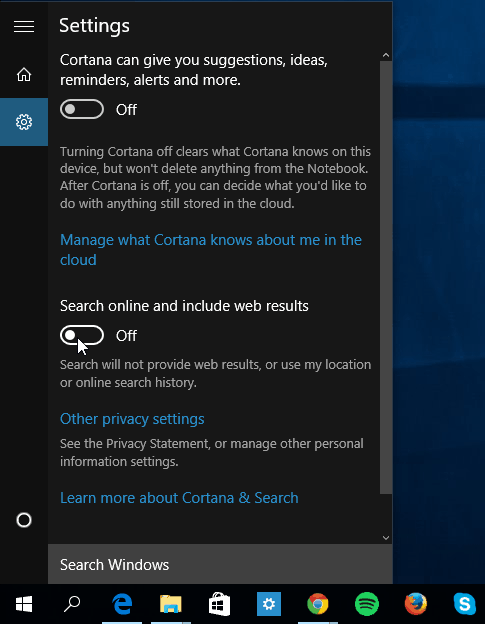Turn On or Off Search online and include web results in Windows 10-c1.png