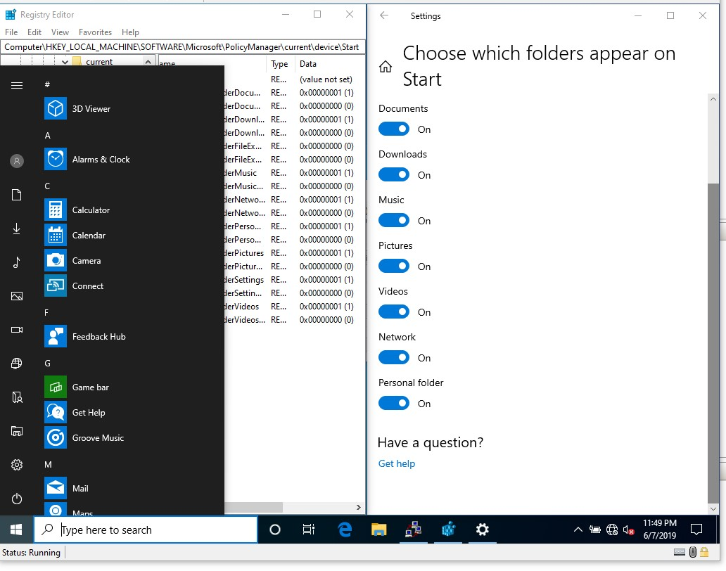 Add or Remove Folders on Start List in Windows 10 - Page 5