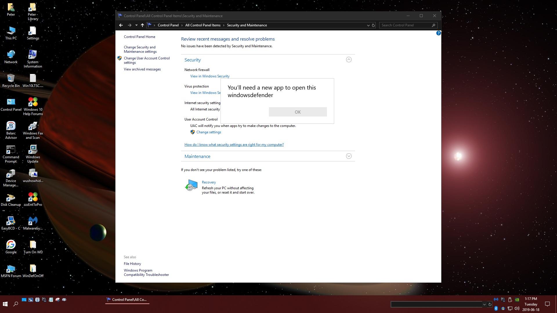 Turn On or Off Windows Defender Antivirus in Windows 10