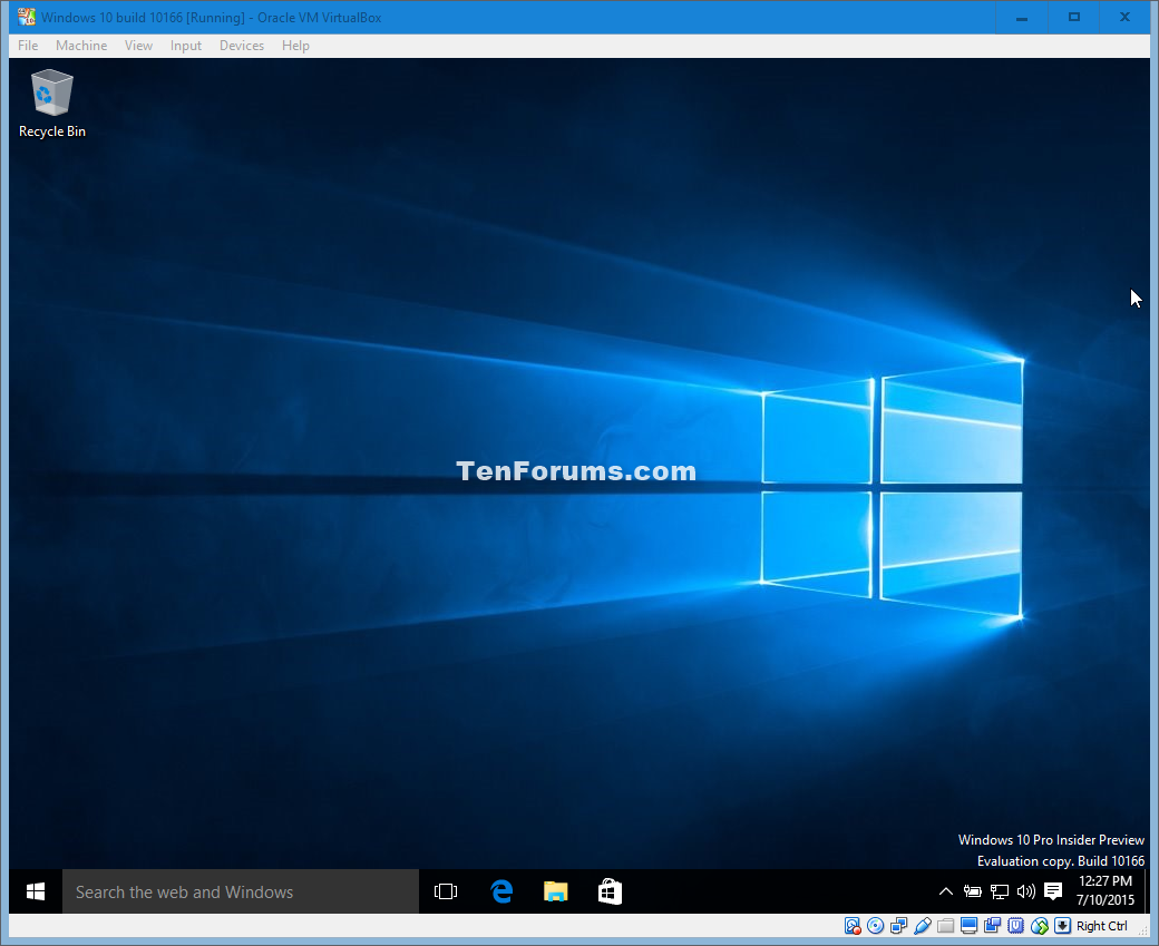 Install Windows 10 Virtual Machine in VirtualBox | Tutorials