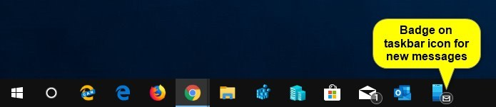 Turn On or Off Badge on Your Phone app Taskbar Icon for New Messages-your_app_badge_on_tasbar_for_new_messages.jpg