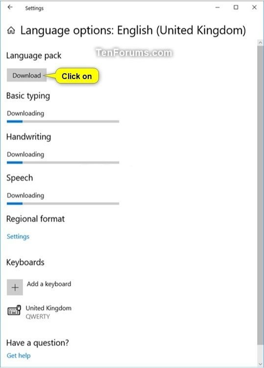 Change Display Language in Windows 10 | Tutorials