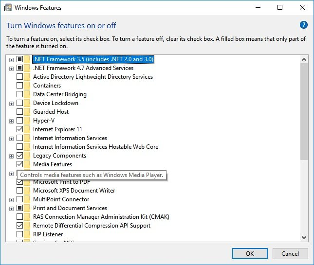 Install or Uninstall Windows Media Player in Windows 10-features.jpg
