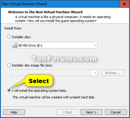 Install Windows 10 as Virtual Machine in VMware Player-windows_10_vmware_player-2.png
