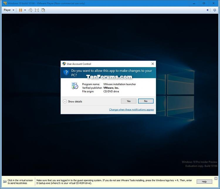 Install Windows 10 as Virtual Machine in VMware Player-windows_10_vmware_player-17.jpg
