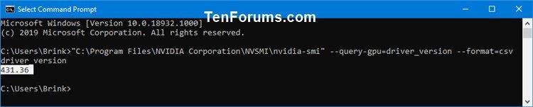 Determine NVIDIA Graphics Display Driver Version Installed in Windows-nvidia-smi-2.jpg