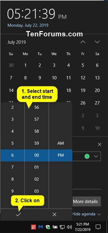 Create New Event in Calendar app in Windows 10-create_calendar_event_from_taskbar-6.jpg