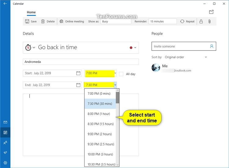 Create New Event in Calendar app in Windows 10-create_calendar_event-7.jpg